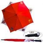 "Regenschirm ""UdSSR´s Wappen"" mit LED- Licht, FA-0015"