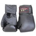 Boxhandschuhe aus Kunstleder schwarz FIT-14886