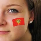 """Fan-Tatoo (Tätowierung-Aufkleber) """"USSR"""""""