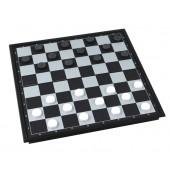 Dame Spiel mit Magnetfeld 19,5x19,5 cm 602786_Chess