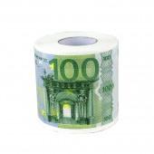 """Toilettenpapier """"100 Euro"""" (grün)"""