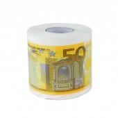 "Toilettenpapier ""50 Euro"" (gelb)"