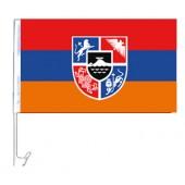 """Флажок на машину """"Армения"""", 30 x 45 см, FA-0004"""