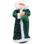 Дед Мороз со свечкой 44 см WE-15585